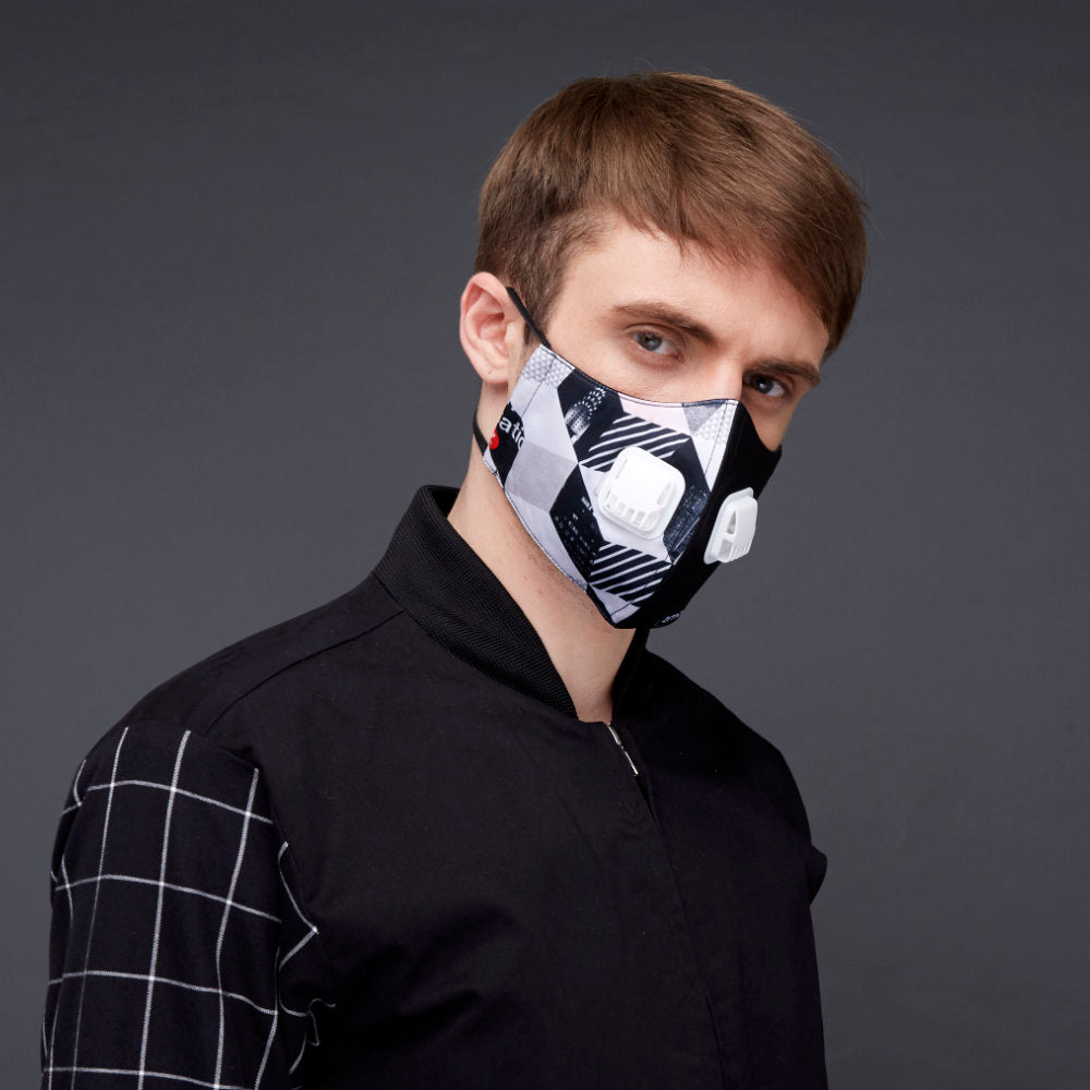Subway Facemask With Air Valve