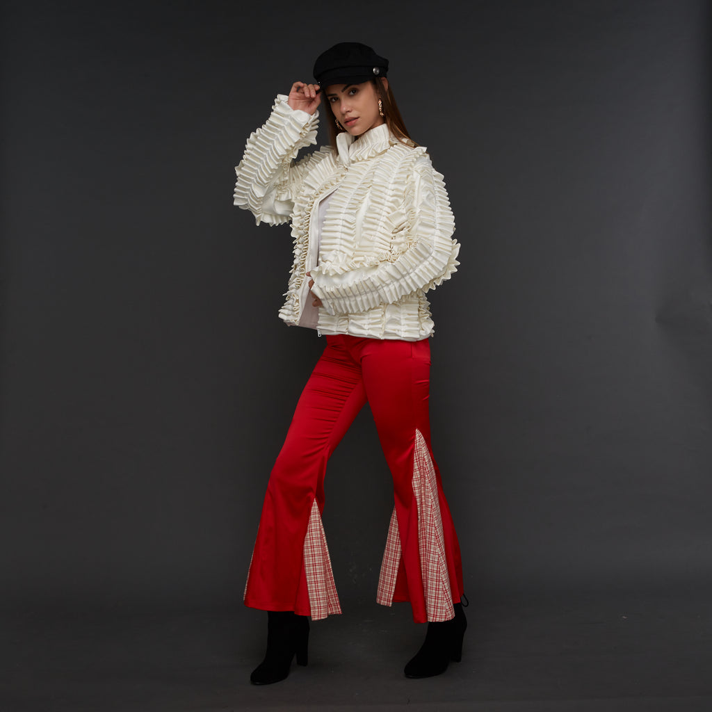 Signature Bell Bottom in Red (1627676639274)