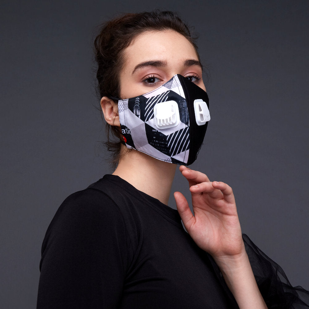 Subway Facemask With Air Valve-2MADISONAVENUE.COM