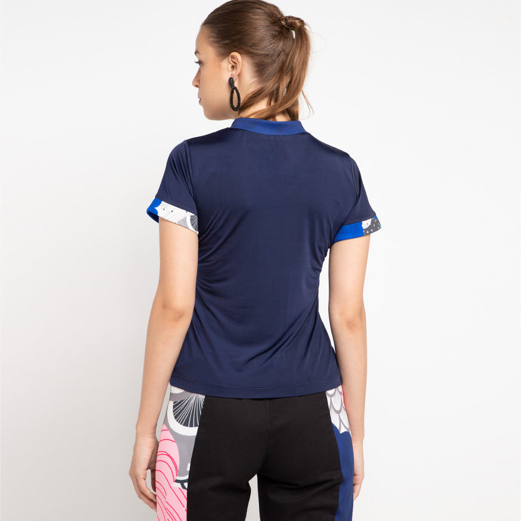 T-shirt with Recharging Blue-2MADISONAVENUE.COM (4322918662167)
