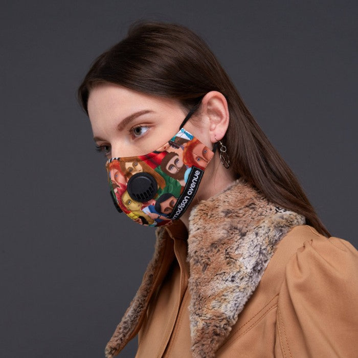Diversity#2 Facemask With Air Valve