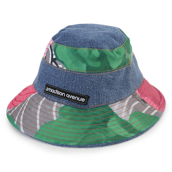 Bucket Hat With Recharging Green