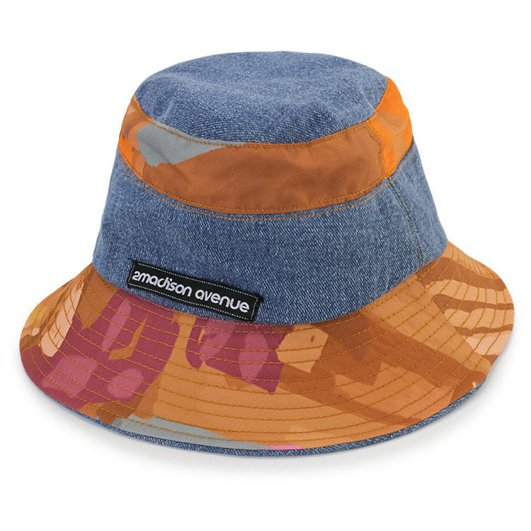 Bucket Hat With Recoloring-2MADISONAVENUE.COM