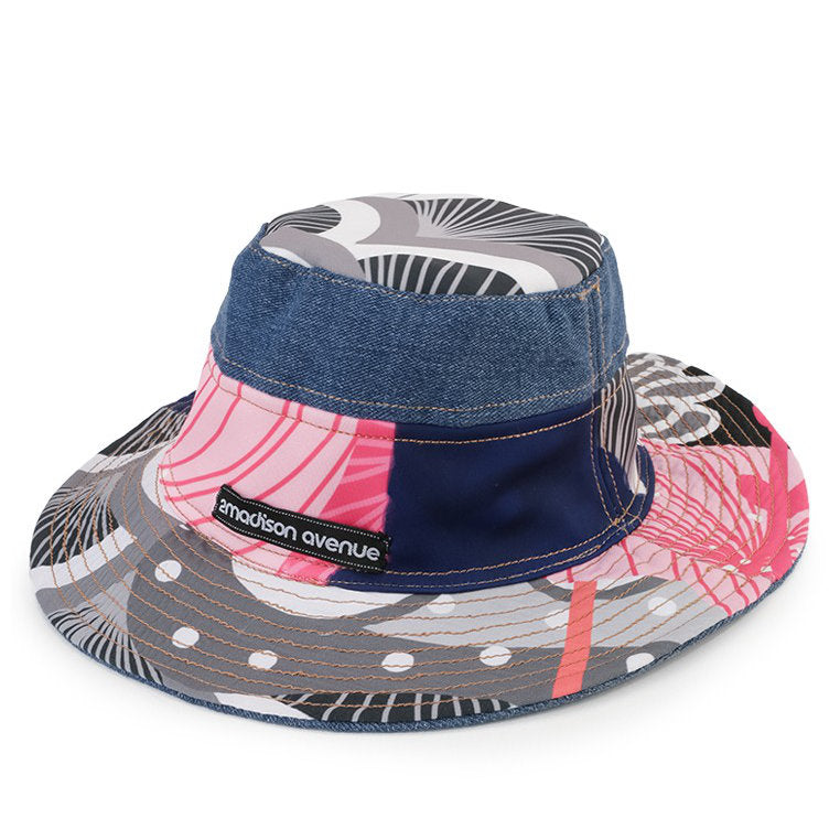 Bucket Hat Recharging Blue-2MADISONAVENUE.COM (4338799247383)
