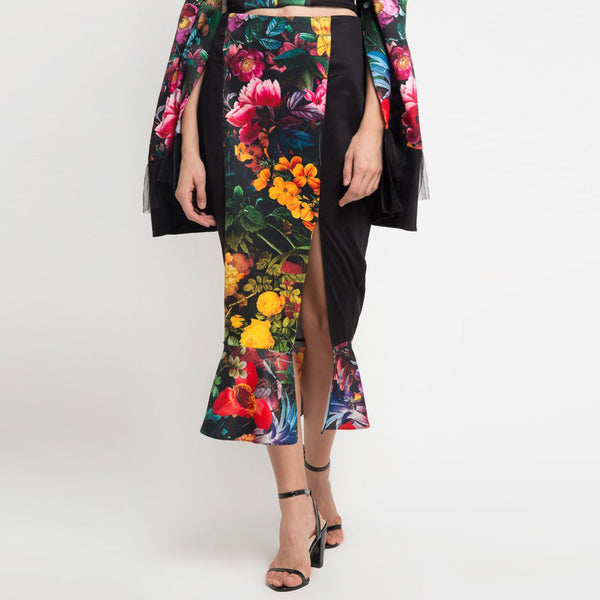 Mi Miami Black Carrie Skirt-2Madison Avenue Indonesia