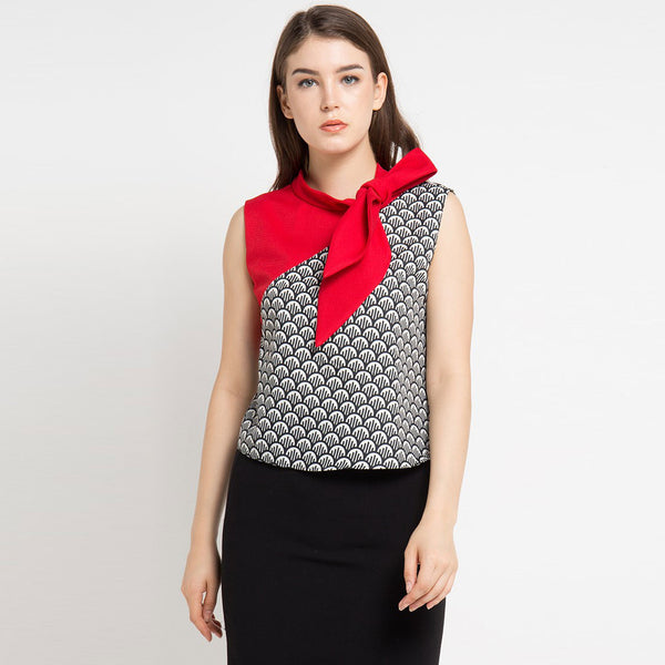 Avenue Red Top-2MADISONAVENUE.COM