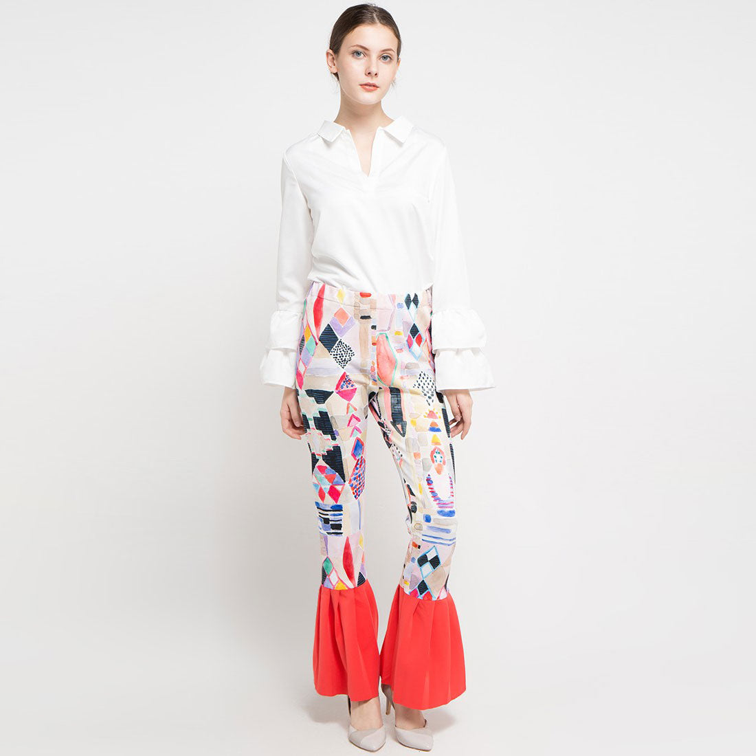 Fancy Legging with Abstraction Art-2Madison Avenue Indonesia