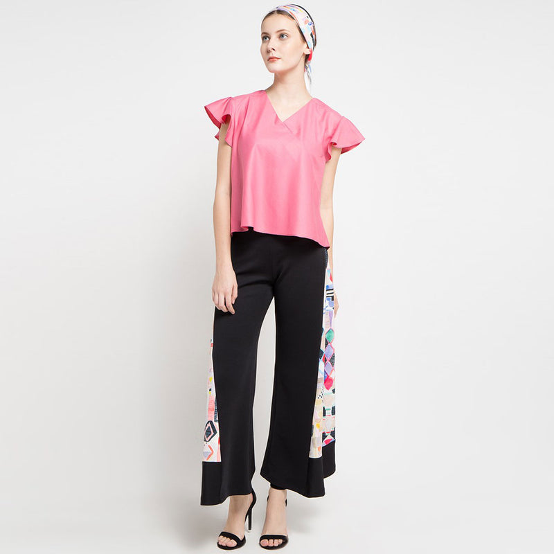 Kimono Cotton Blouse Baby Pink-2Madison Avenue Indonesia