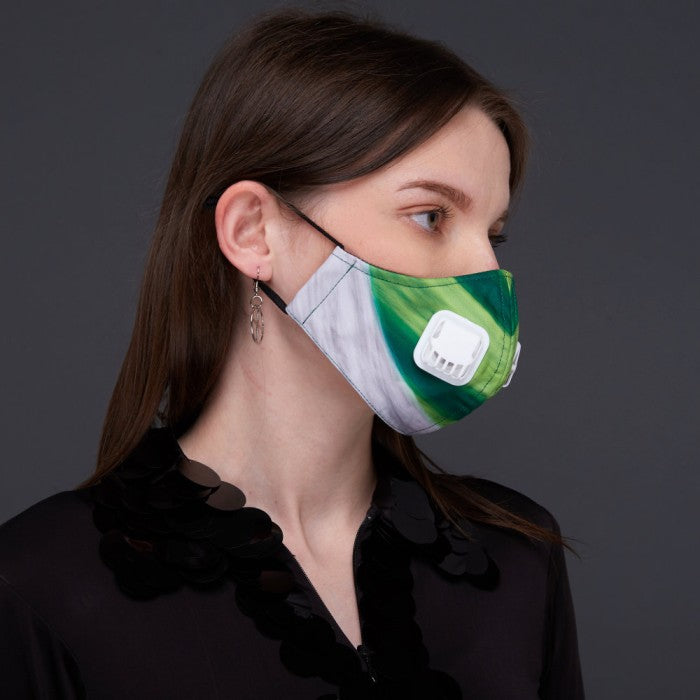To The Future#2 Facemask With Air Valve (4814457438231)