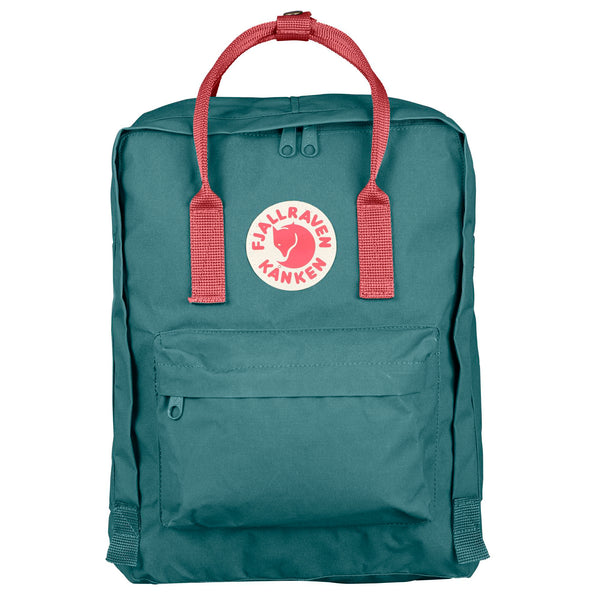 Fjallraven Kanken Classic Backpack Frost green/peach pink-2MADISONAVENUE.COM