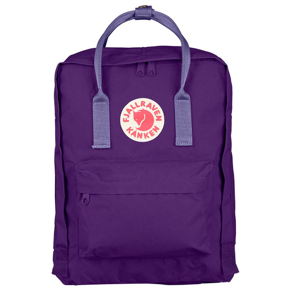 Fjallraven Kanken Classic Backpack Purple Violet-2MADISONAVENUE.COM
