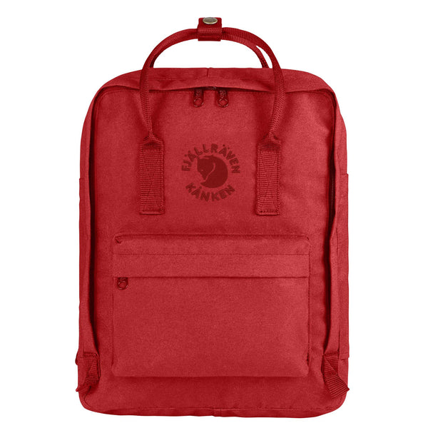Fjallraven Re- Kanken Classic Backpack Red-2MADISONAVENUE.COM
