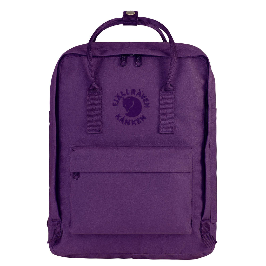 Fjallraven Re-Kanken Classic Backpack Deep Violet-2MADISONAVENUE.COM
