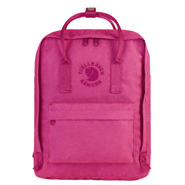 Fjallraven Re- Kanken Classic Backpack Pink Rose-2MADISONAVENUE.COM
