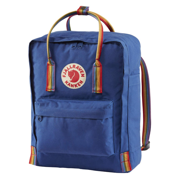 Fjallraven Kanken Rainbow Backpack Deep Blue-2MADISONAVENUE.COM