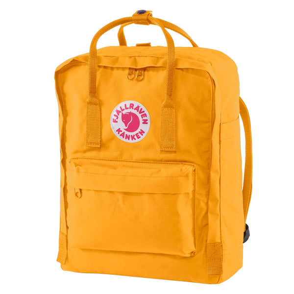 Fjallraven Kanken Classic Backpack Warm Yellow-2MADISONAVENUE.COM
