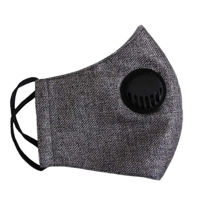 Workwear#6 Facemask With Air Valve (4492495093783)