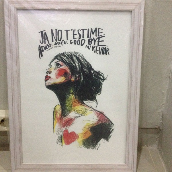 Ja No T'estime - Art-2MADISONAVENUE.COM