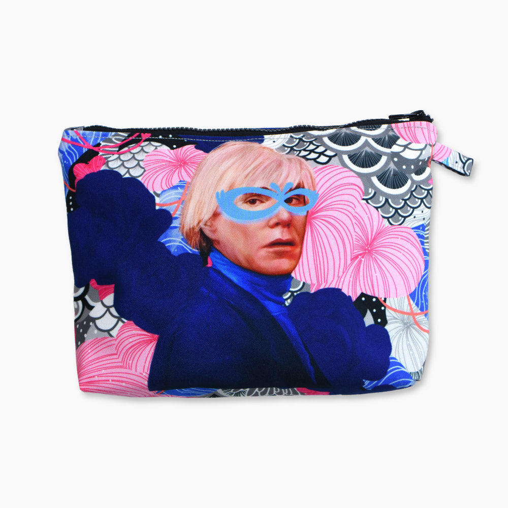 Pouch With Recharging Andy Warhol Art-2MADISONAVENUE.COM