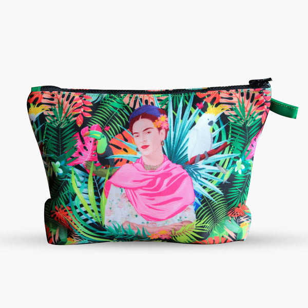 Frida's Paradise Pouch-2MADISONAVENUE.COM