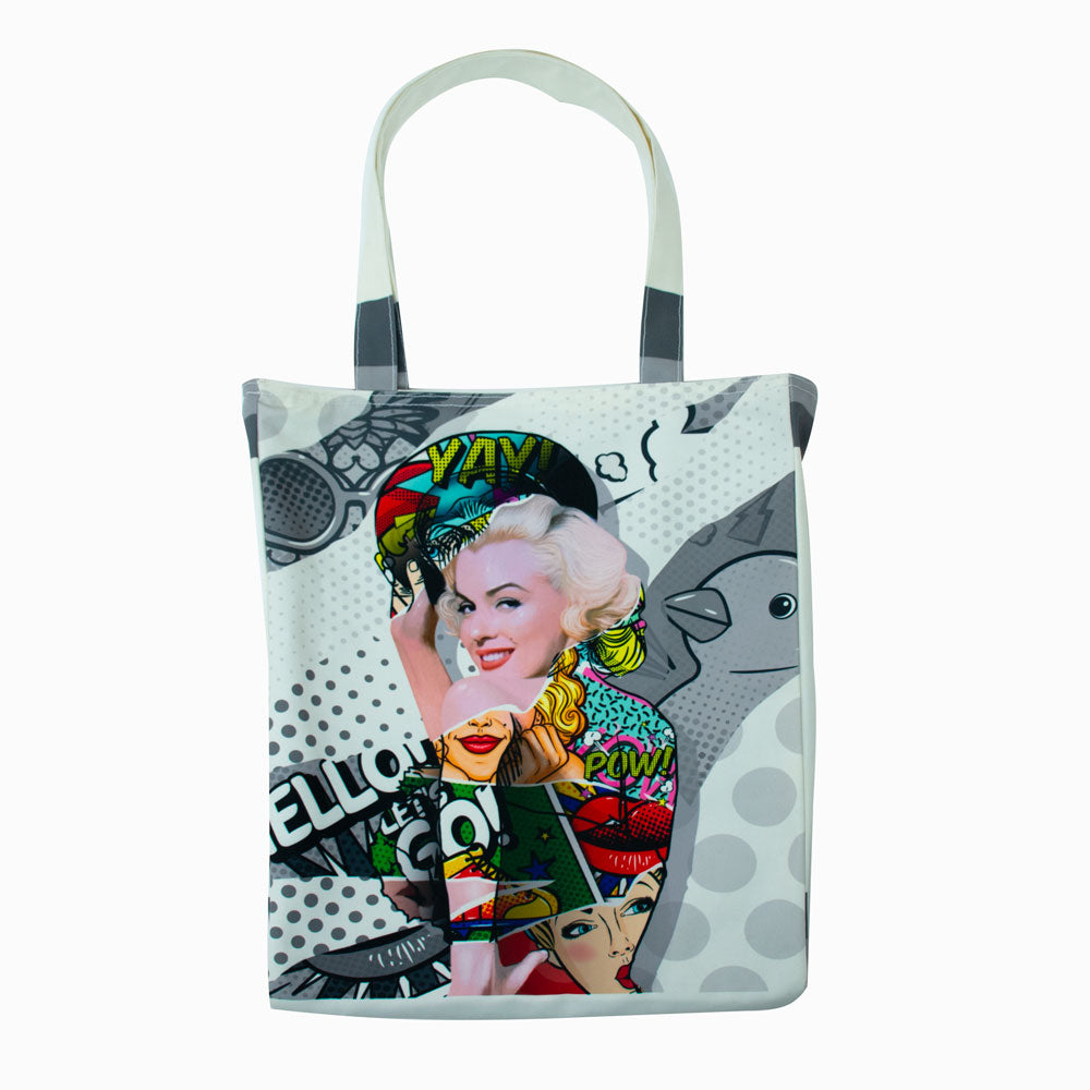 Marilyn Pow Tote Bag-2MADISONAVENUE.COM (1928808661034)