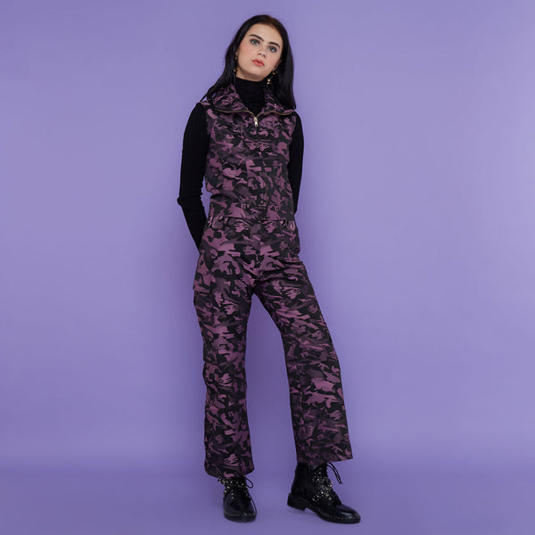 Destiny Army Cargo Pants Purple-2Madison Avenue Indonesia