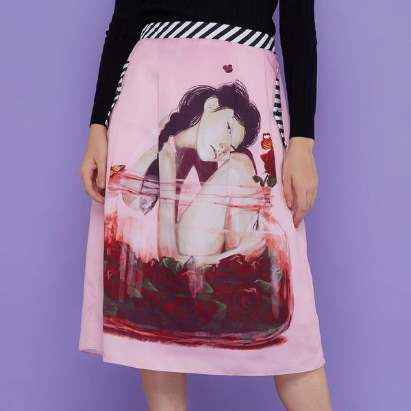 Boho Skirt With Enjoyment Art-2Madison Avenue Indonesia