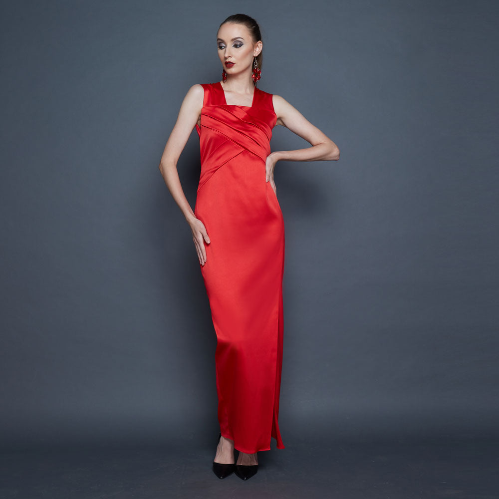 Classic Marilyn Long Dress-2MADISONAVENUE.COM (1825810153514)
