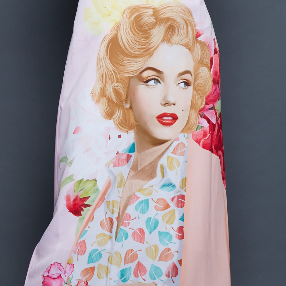 Merry Dress With Retro Marilyn-2MADISONAVENUE.COM