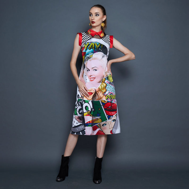 Katy Dress With Marilyn Pow-2Madison Avenue Indonesia