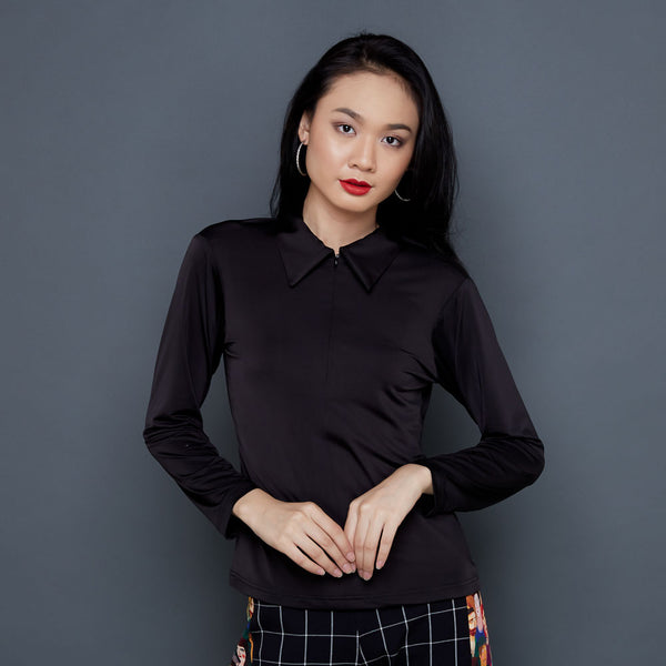 Basic Easy Top in Black-2Madison Avenue Indonesia