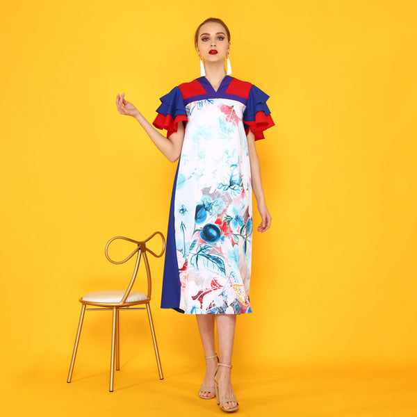 Tango Dress With Blessful Art