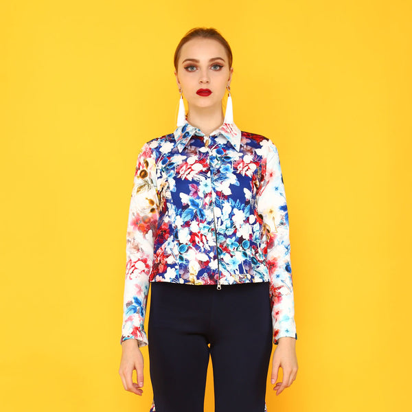 Miranda Jacket With Blessful Art
