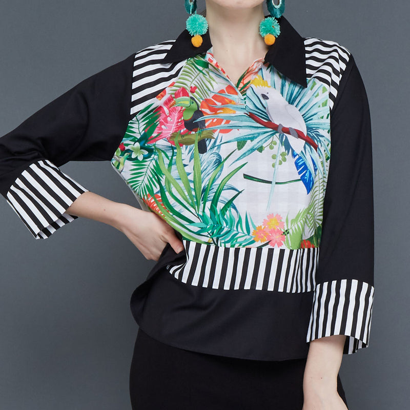 Melani Top With White Bliss-2Madison Avenue Indonesia