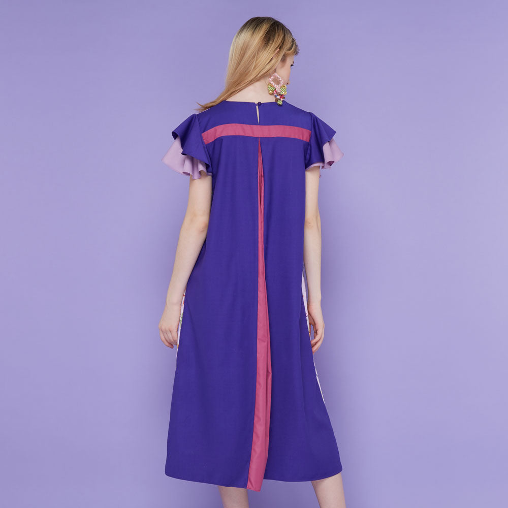 Tango Dress With Spring Garden in Lavender-2MADISONAVENUE.COM (1911144415274)