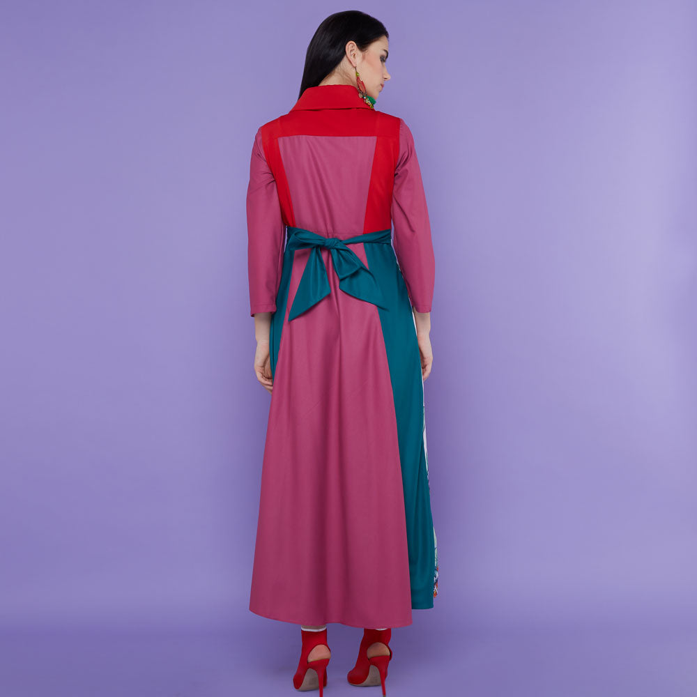 Regal Dress With First Earth in Mulbery-2MADISONAVENUE.COM (1904716152874)