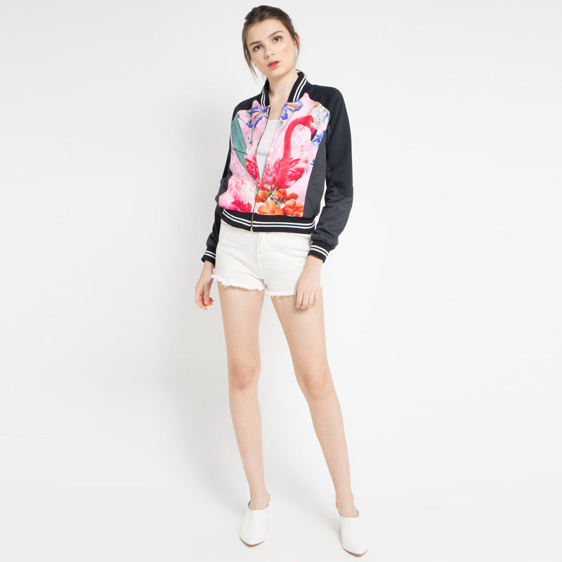 Fancy Varsity with Miami Pink-2MADISONAVENUE.COM