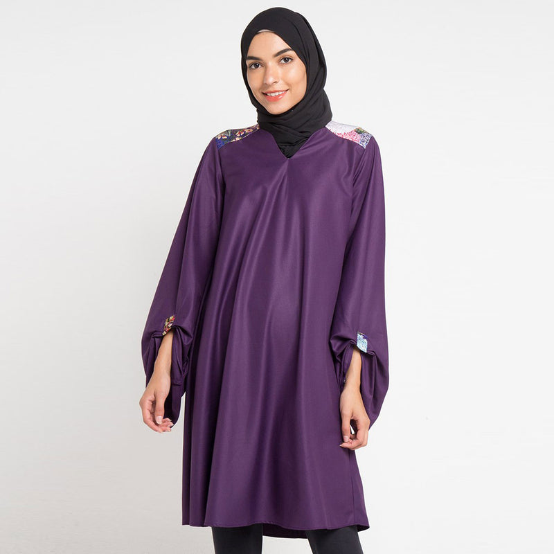 Morocco Dress in Miami Purple-2Madison Avenue Indonesia