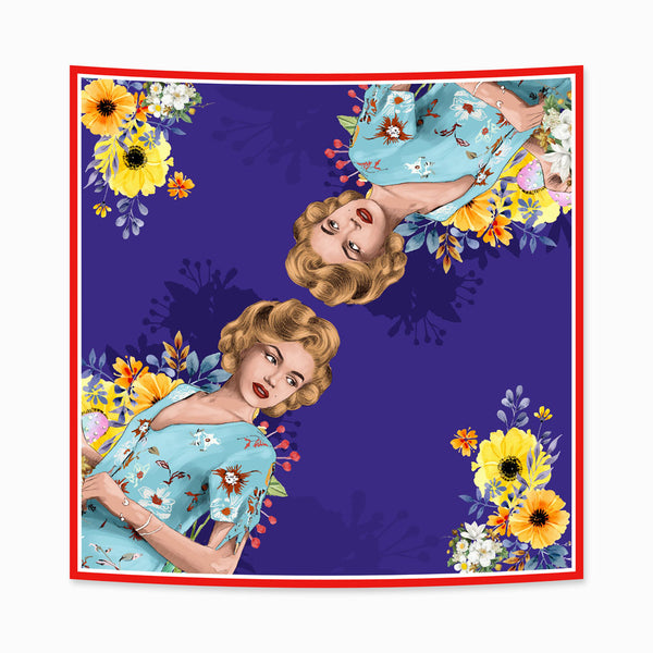 Scarf Marilyn Blues