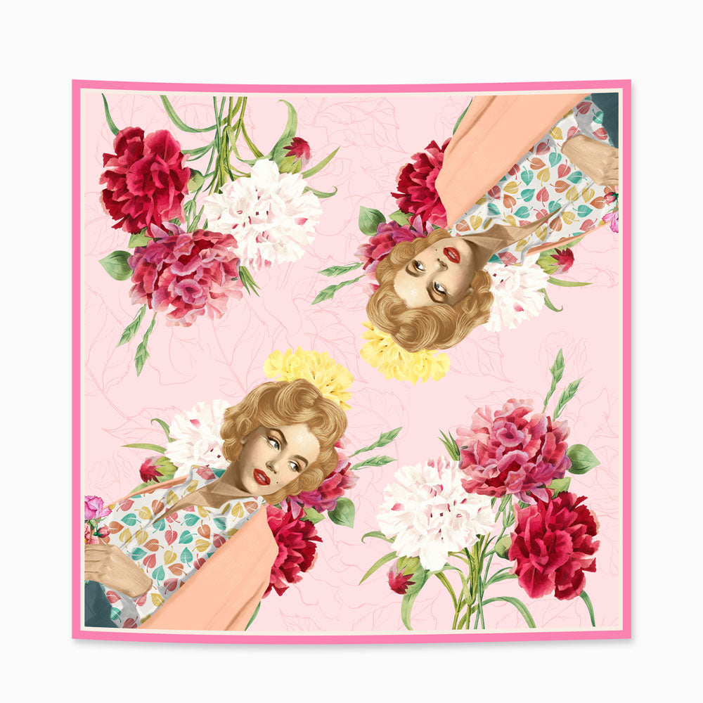 Marilyn Retro Scarf-2MADISONAVENUE.COM (3828777910314)