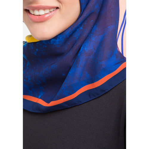 Secret Orbital Navy Scarf-2Madison Avenue Indonesia