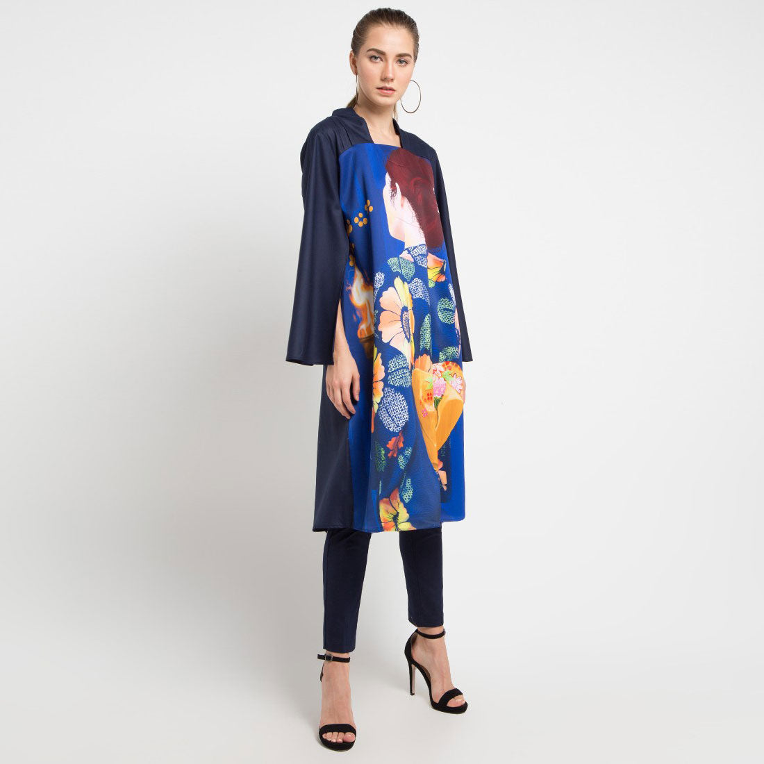 Signature Shirt Dress With Secret Stregth Art-2Madison Avenue Indonesia