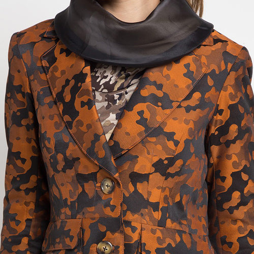 Signature Blazer In Army Orange-2Madison Avenue Indonesia