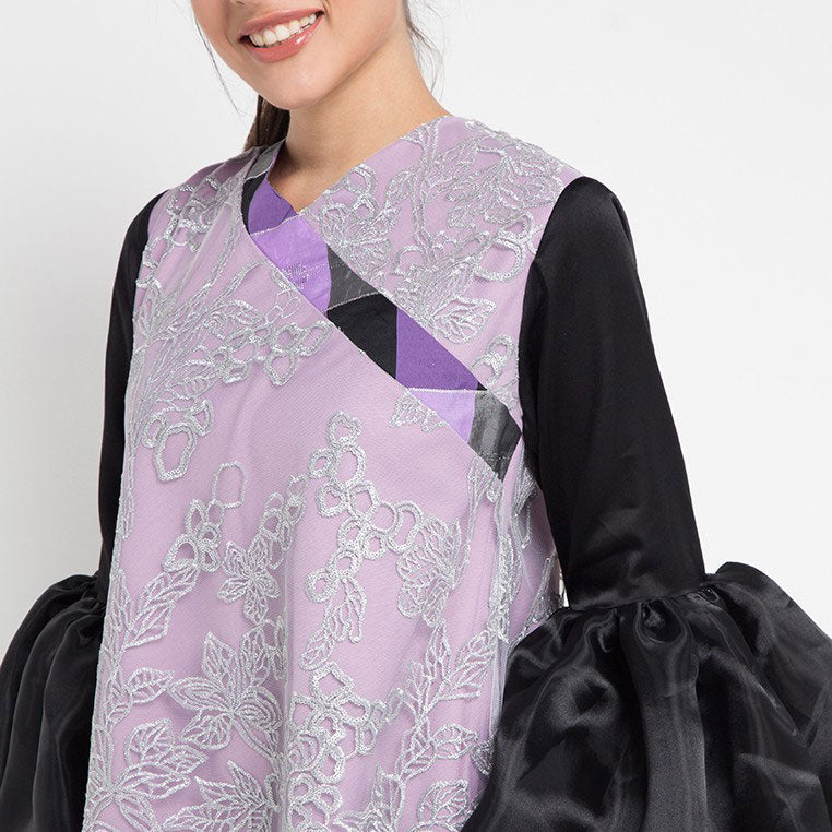 Joan top With Lace overlay-2Madison Avenue Indonesia