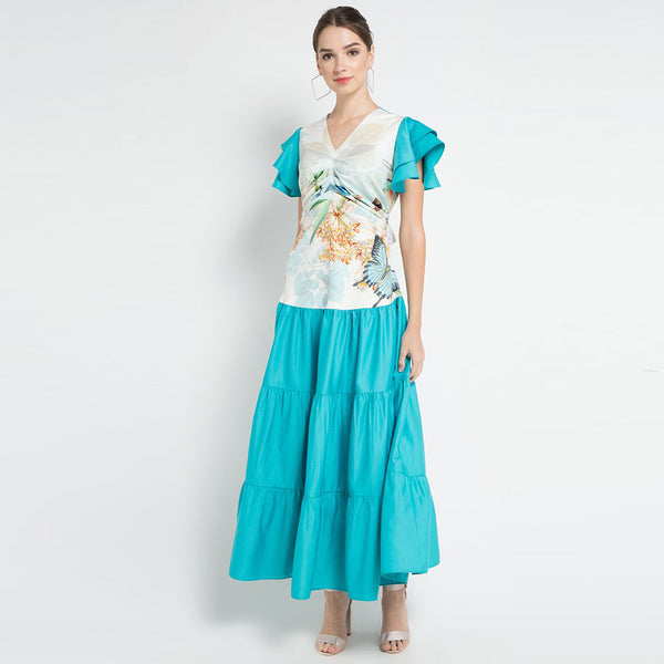 Lydia Long Dress with Miami Tosca-2Madison Avenue Indonesia