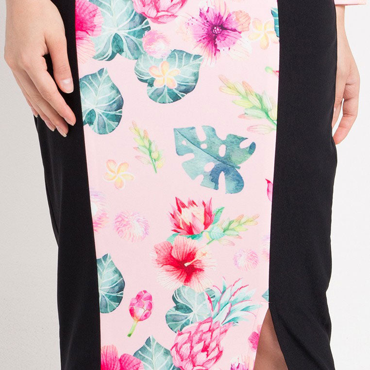 Carrie Skirt Long in Pink Bliss-2Madison Avenue Indonesia