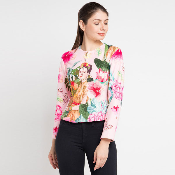 Miranda Jacket in Pink Bliss-2Madison Avenue Indonesia