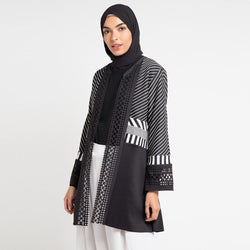 Long Outer Stripe with Long Sleeve-2Madison Avenue Indonesia