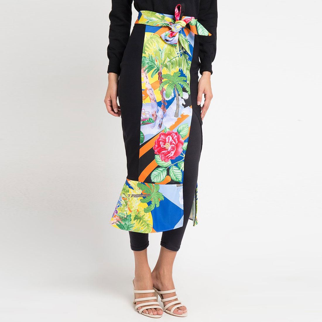 Mi Miami Blue Carrie Skirt-2Madison Avenue Indonesia