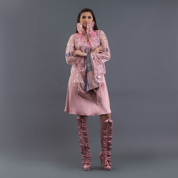 Alexandra Helena Cardigan in Sequin Lace-2Madison Avenue Indonesia